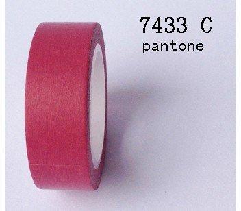 Masking Tape uni - rose framboise