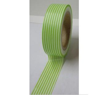 Masking Tape rayures - vert