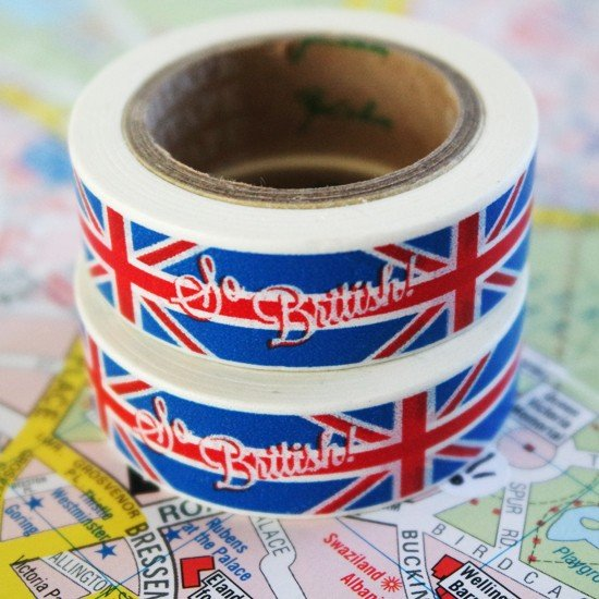 masking tape So british