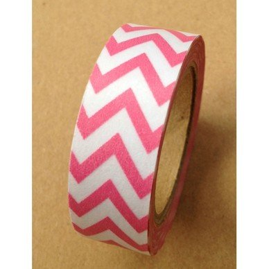 Masking Tape chevrons / rose