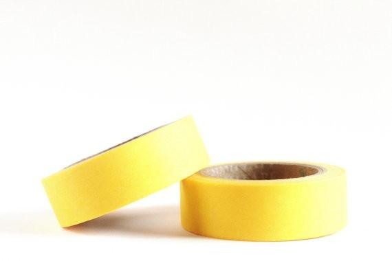 masking tape uni / jaune