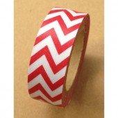 Masking Tape chevrons / rouge