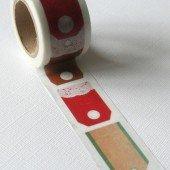 masking tape large / étiquettes