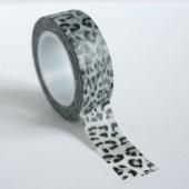 masking tape léopard / gris