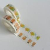 masking tape aquarelle / agrumes
