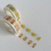 masking tape aquarelle / ananas