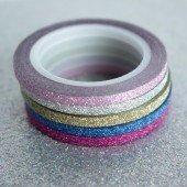 masking tape fin / les brillants