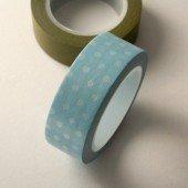 masking tape pois - bleu